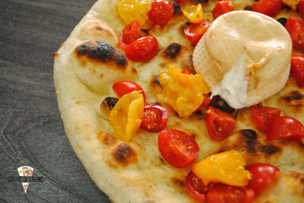 Soffio di Grano - pizza edizione limitata pomodorini gialli del Vesuvio