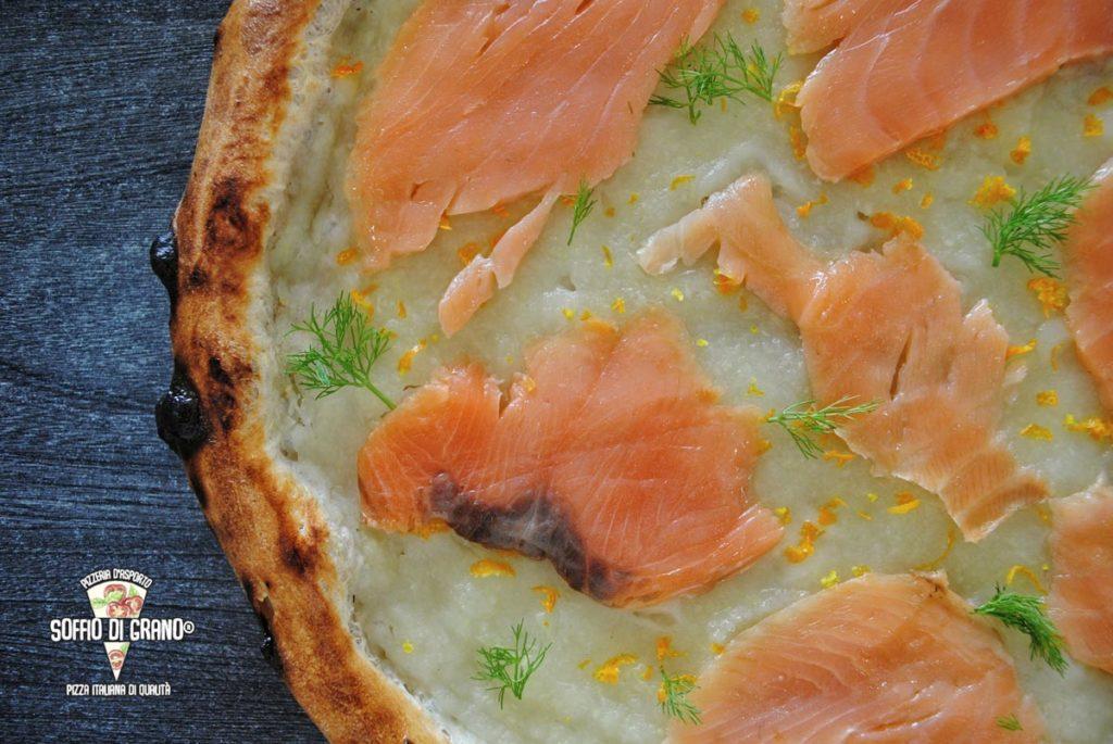 Crema di finocchi, Salmone, Arancia - Edizione limitata Febbraio - Soffio di Grano