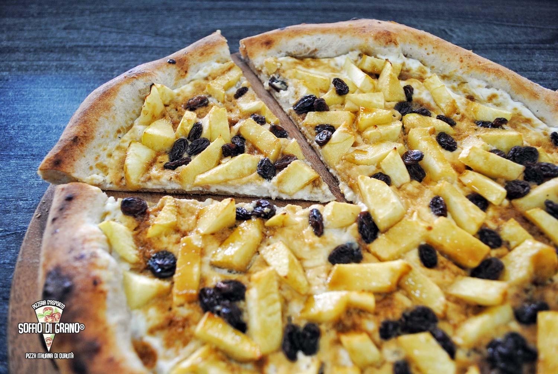 Ricotta, mele, uvetta, zucchero di canna - Edizione limitata Ottobre 2019