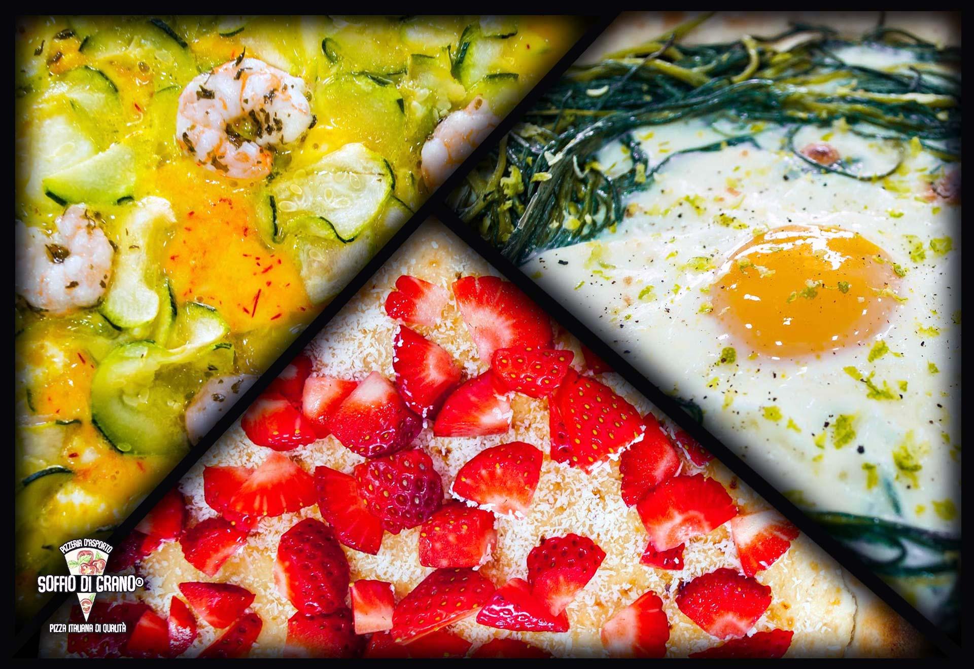 Edizione limtata Aprile - Soffio di Grano - Pizza Dalmine