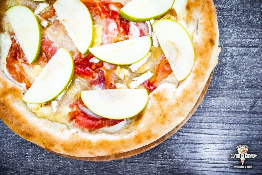 Prosciutto cotto arrosto, camembert, mele verdi - Soffio di Grano - Edizione limitata - Marzo 2020