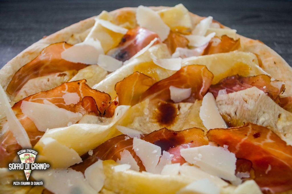 Ananas, speck, glassa di mosto di vino, grana padano - Soffio di Grano - Edizione limitata - Agosto 2020
