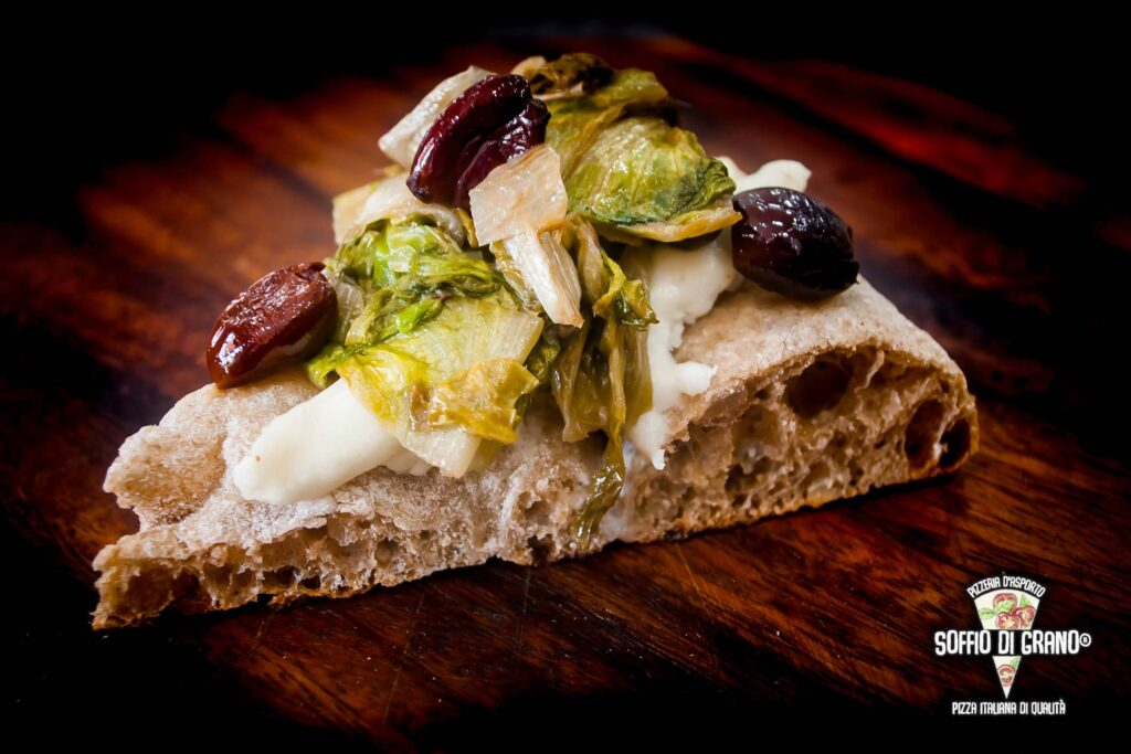 Alici capperi olive scarola - Scrocchiarella in edizione limitata - Soffio di Grano