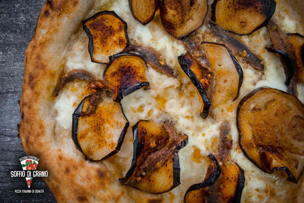 Melanzane fritte, alici marinate piccanti- Soffio di Grano - Edizione Limitata - Settembre 2021