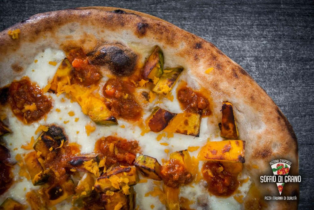 Zucca, ragù di carne, scorza d'arancia - Soffio di Grano - Edizione limitata - Ottobre 2021